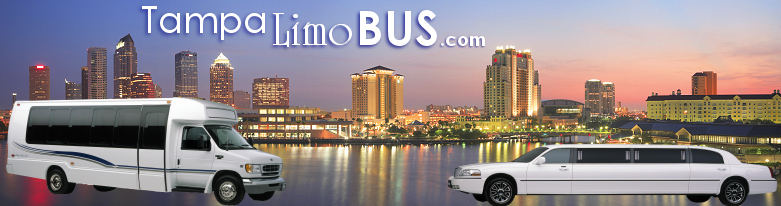 Tampa Limo Bus. Tampa Town Car Services.